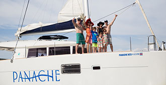 private luxury catamaran tour